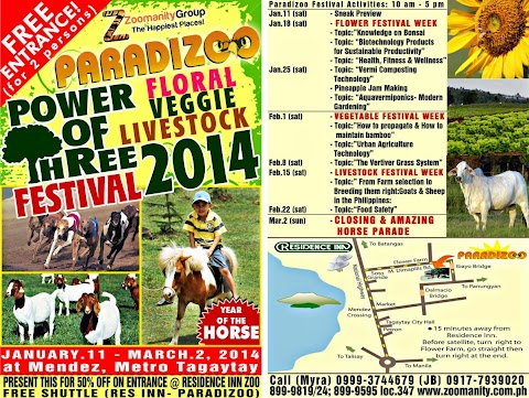 "PARADIZOO Celebrates ""POWER OF THREE 2014"""