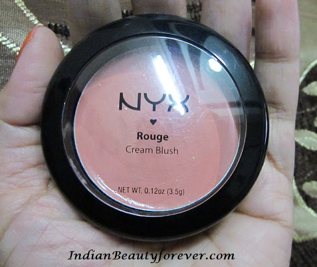 Nyx Cream Blush in Rose Petal