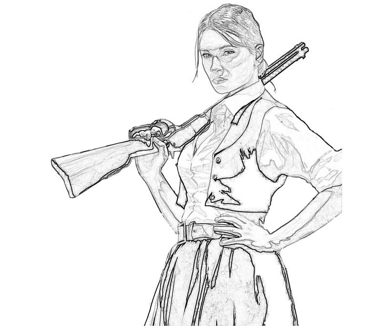 red dead redemption coloring pages - photo#7