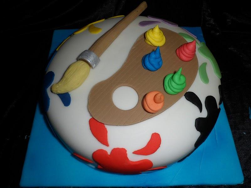 Cake Artistry Mauritius : Hannah s Buns Blog: Artist Cake