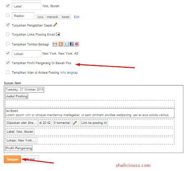 Menampilkan Profil Admin Atau Penulis Dibawah Postingan Blog