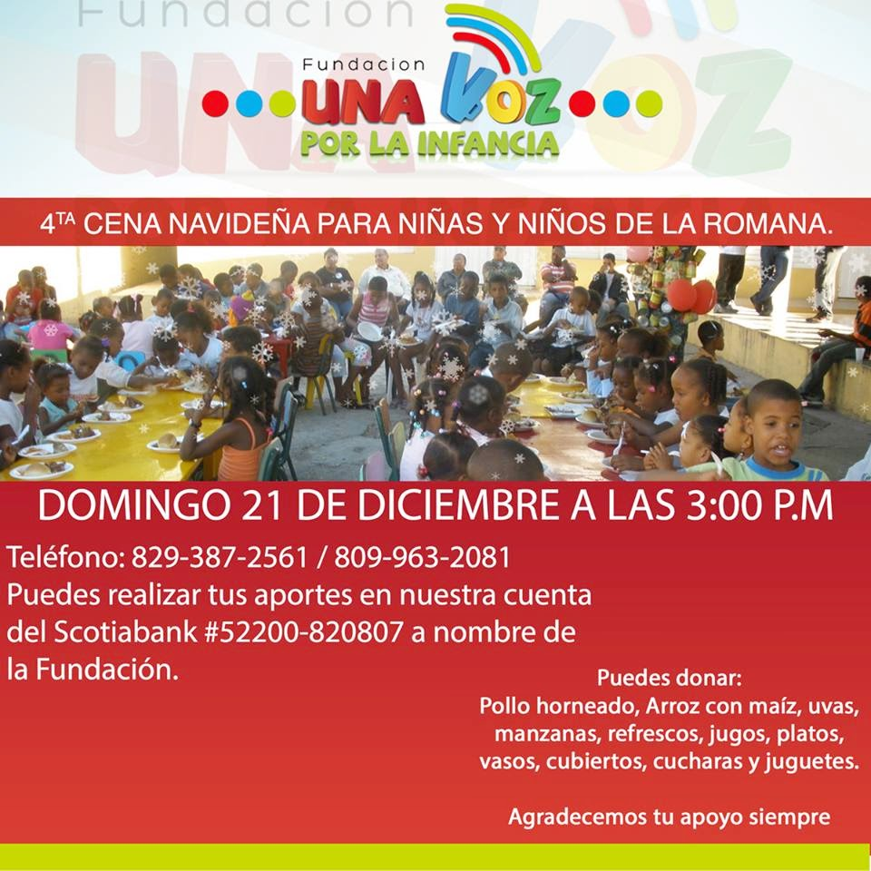 Cena navideña de Funinfa!