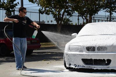 shampo motor, snow  wash, shampo salju