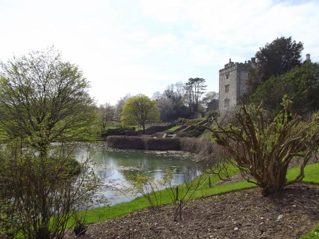 Sizergh Castle across the lake