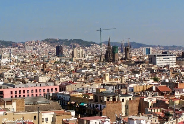 Barcellona, panorama dal Monumento a Colombo
