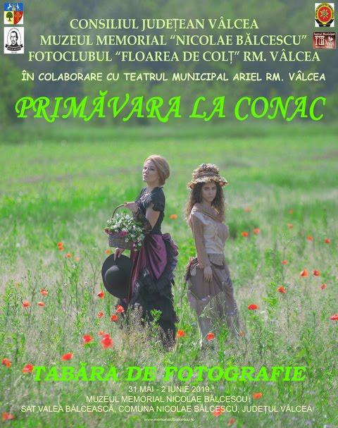 PRIMĂVARA LA CONAC - Tabăra de Fotografie