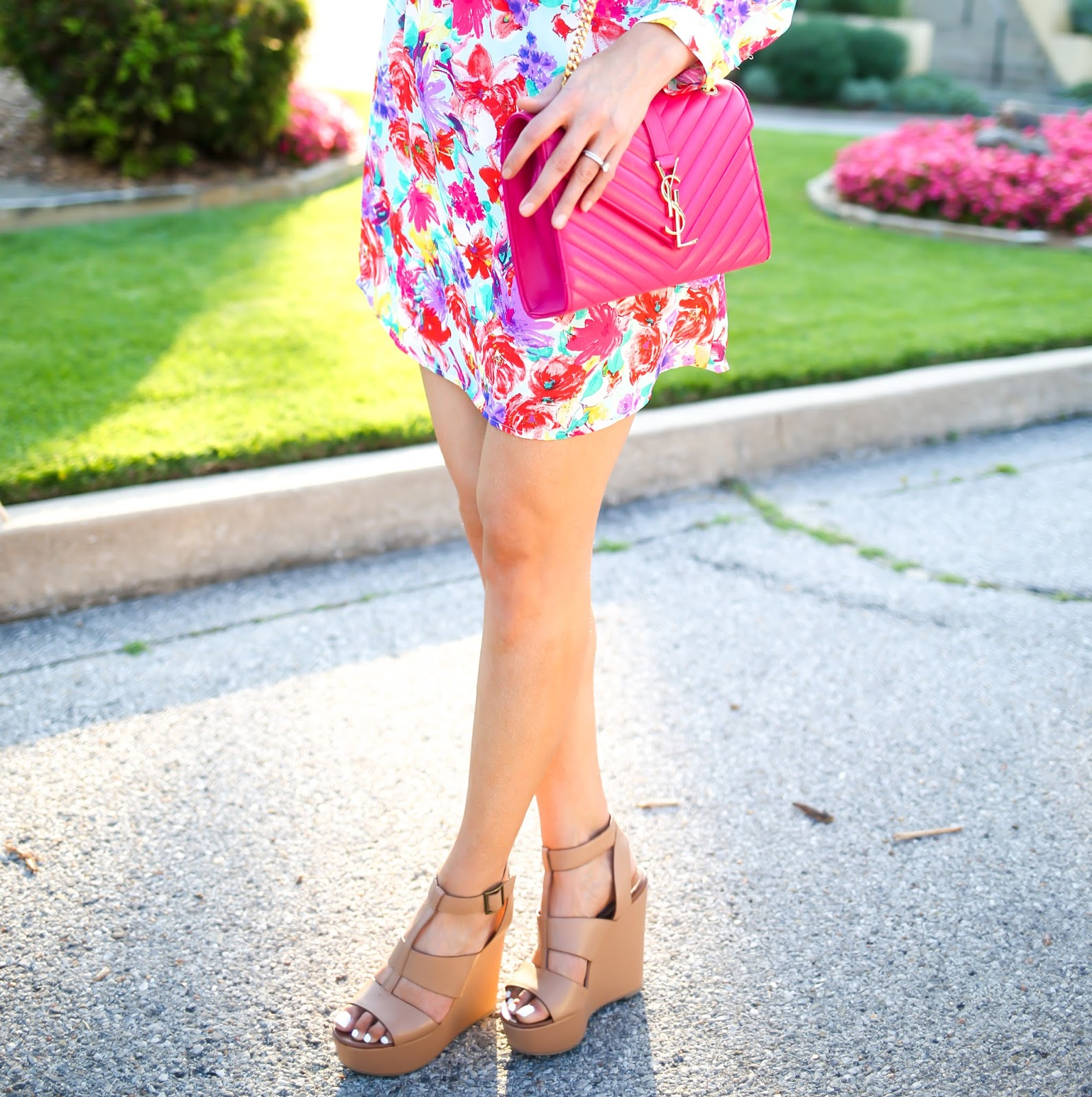 The Sweetest Thing: The Perfect Floral Shirtdress