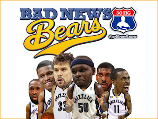 memphis grizzlies, bad news bears, zach randolph, marc gasol, rudy gay