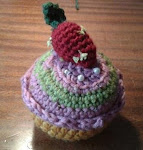 Cupcake de ganchillo