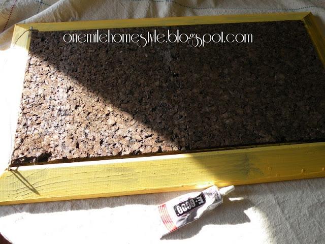 Picture Frame Corkboard