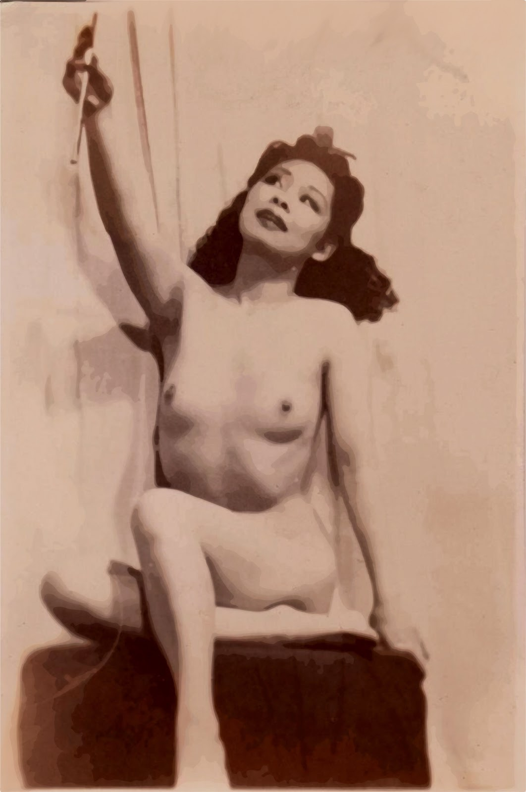 Usual Nude life drawing models blog curiously
