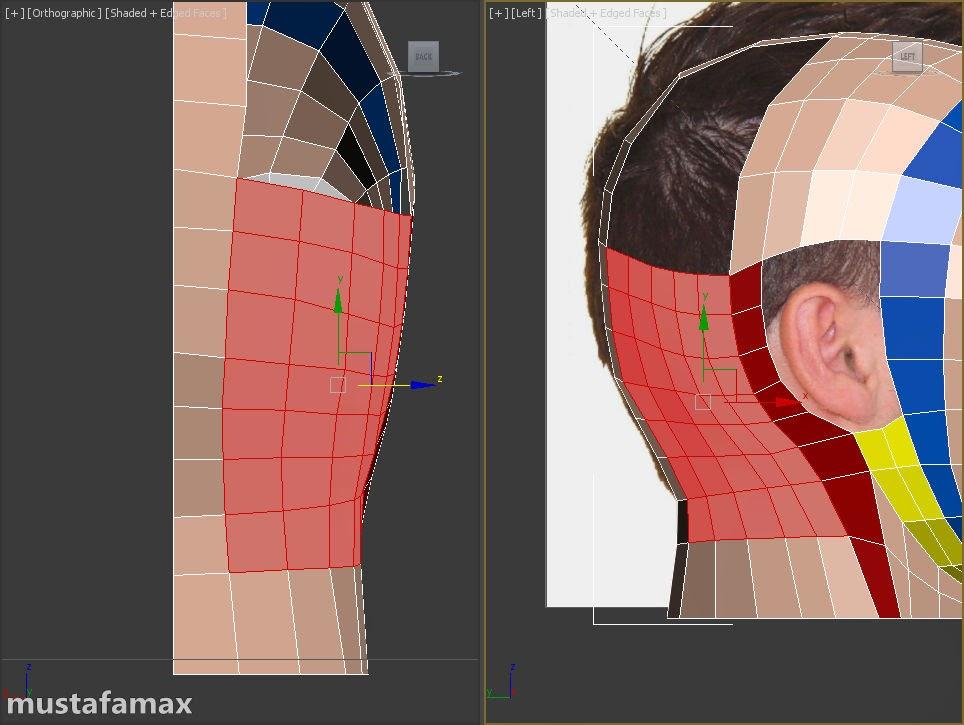 4-تصميم واكساء وتحريك شخصية في 3D MAX 2015