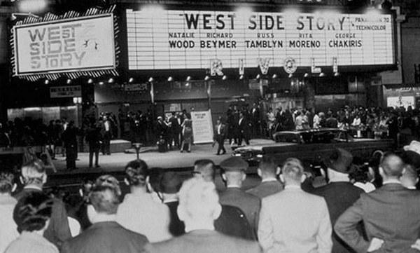 Premiere de West Side Story en 1961