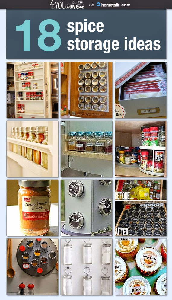 18 Spice Storage Ideas 4 You With Love