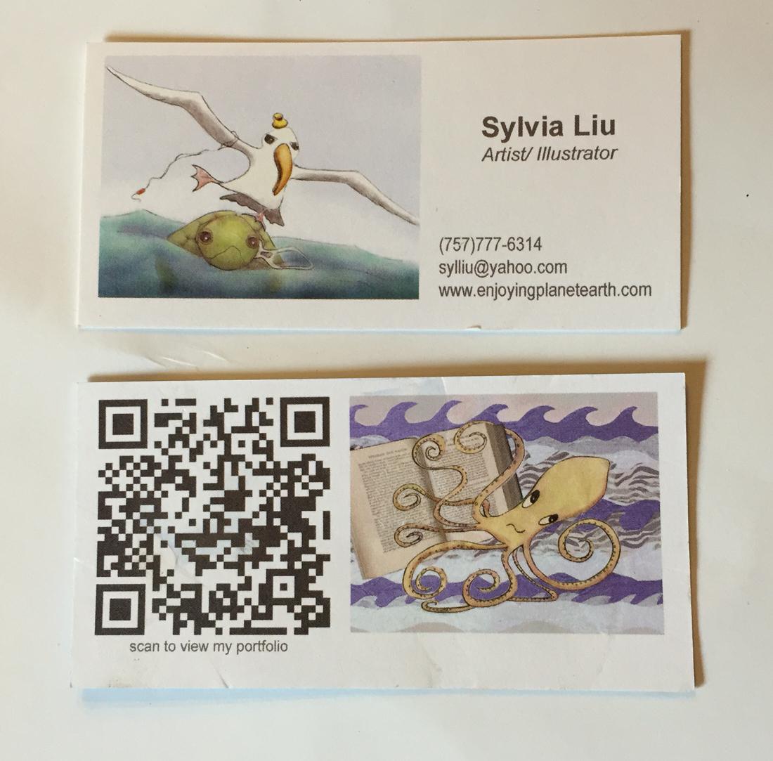 Sylvia Liu Land: Postcard and Business Card Printers