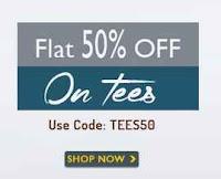 Basicslife : Tees Flat 15% OFF + 20% Cashback via Payumoney  :Buytoearn