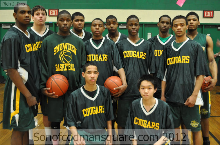2011-12 Snowden High Cougers!