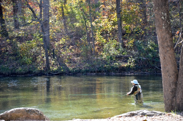 Weaver 39 s tackle store october 2011 for Bennett springs trout fishing
