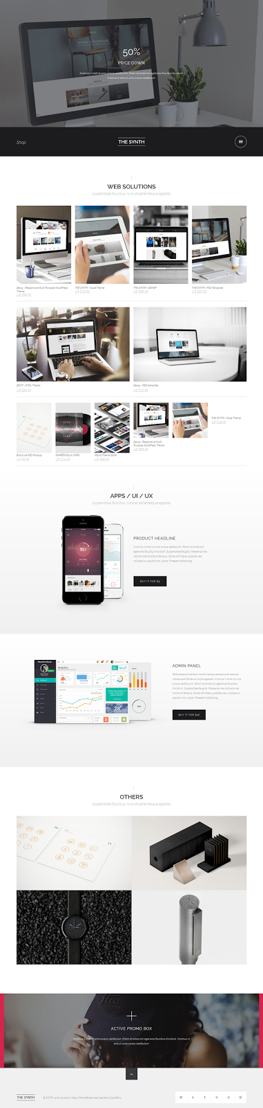 Best eCommerce Muse Theme