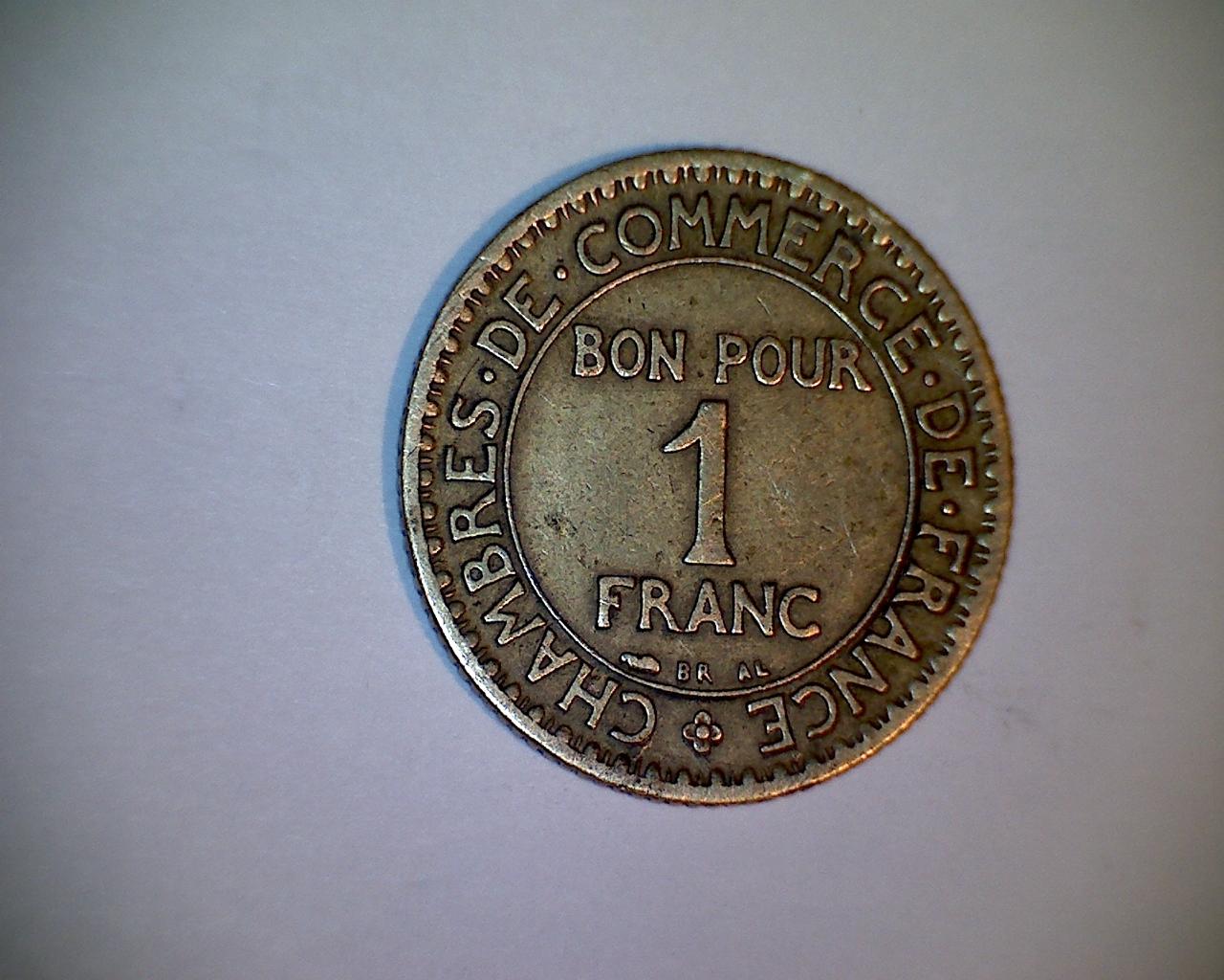 Tr sors et merdouilles des fr res huyghe objets divers for Chambre de commerce de france bon pour 2 francs