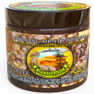 OTHMANI TURKISH COFFEE HOOKAH SHISHA TOBACCO