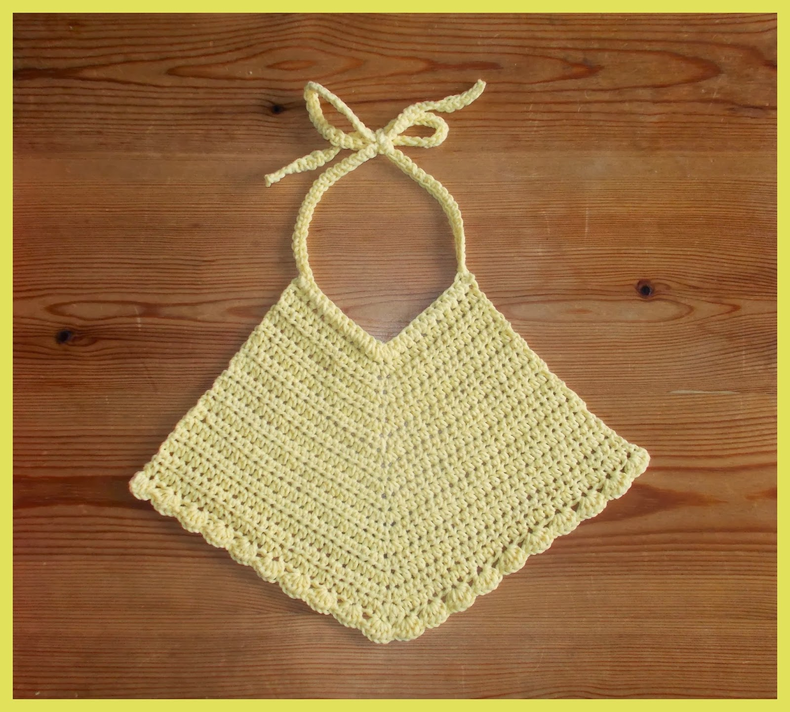 mariannas lazy daisy days: Pretty Crochet Baby Bibs in ...