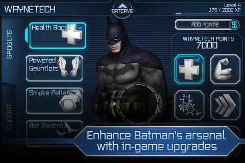 Batman Arkham City Lockdown, iPhone Games Action  Free Download, iPhone Applications