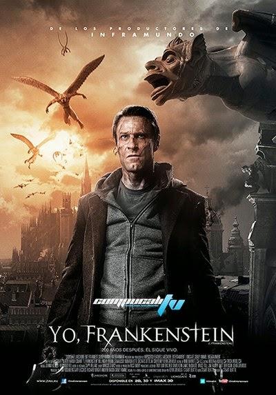 Portada de Yo, Frankenstein DVDRip Latino