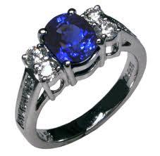 45th Anniversary Gift Sapphire Ring