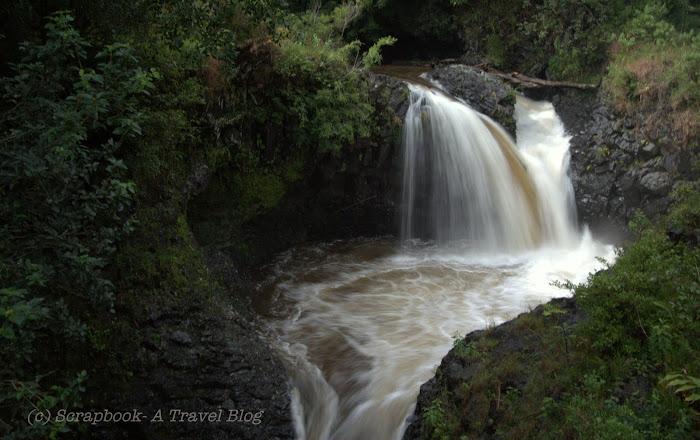 hawaii maui haleakala waimoku waterfalls