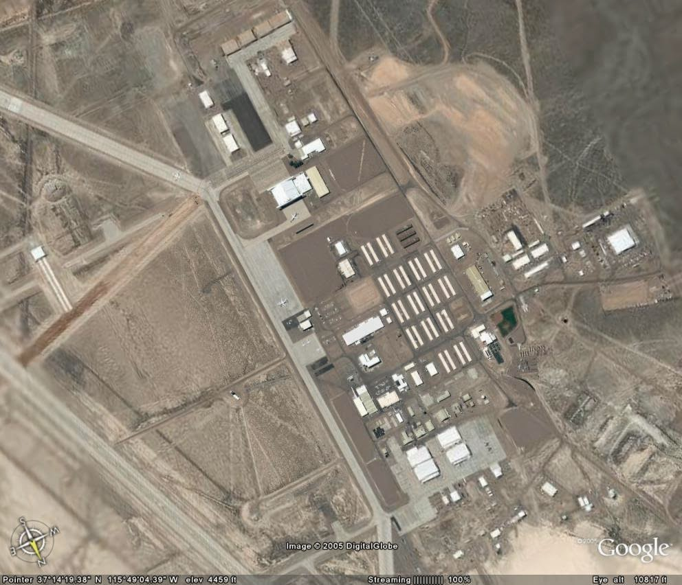 how to find area 51 on google maps 2015