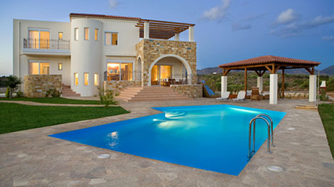 New home designs latest.: Modern villas exterior designs Cyprus.