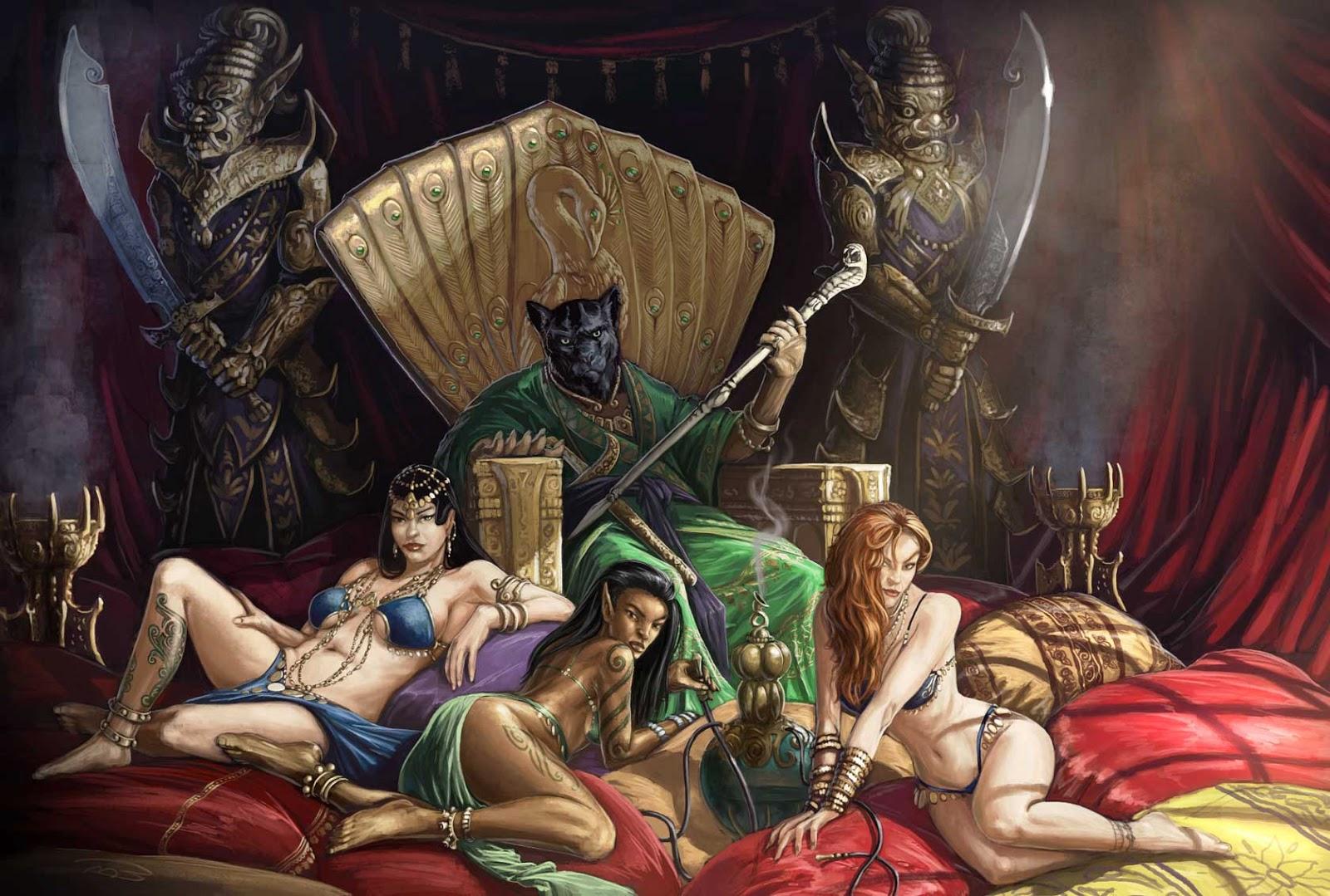 Lok demon sex game underworld naked clip