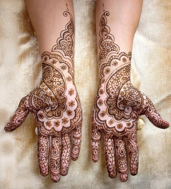 Bridal Mehndi Gallery : Simple mehndi designs photoes new gallery