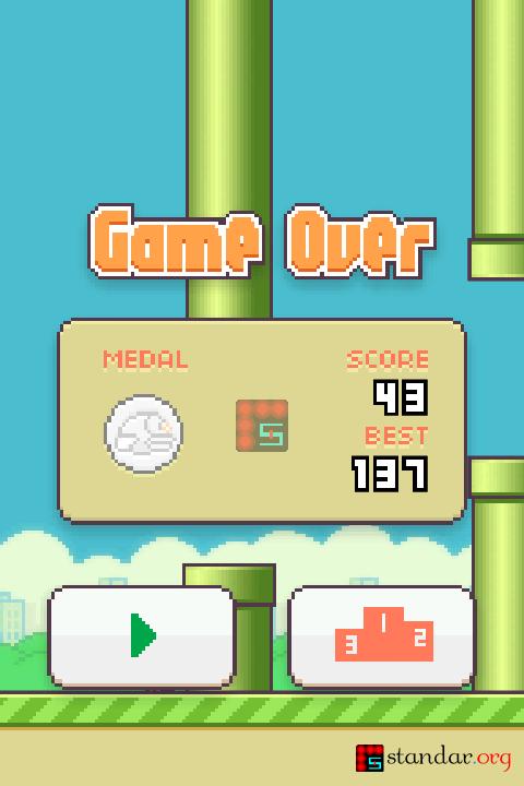 Menjengkelkan Mana, Flappy Bird vs Ironpants..??-2