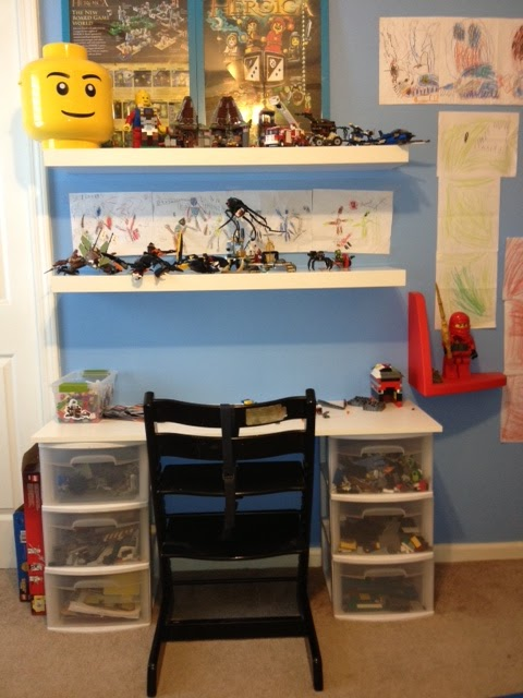 LEGO Mom: Lego Work Station