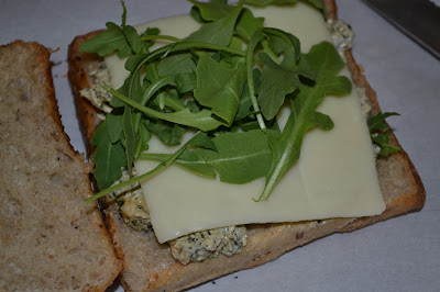 chicken pesto sandwich- photo challenge
