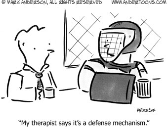 defense mechanisms worksheets | Psychodynamic Defence Mechanisms ...
