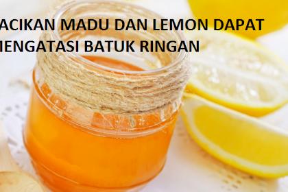 Manfaat Madu dan Lemon Untuk Mengatasi Batuk Ringan