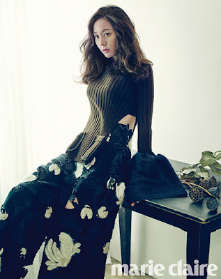 Yeom Jung Ah - Marie Claire November 2015