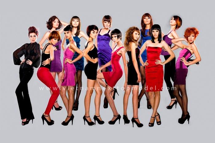 với chương trình Việt Nam Next Top Model trên Vê Tê Vê