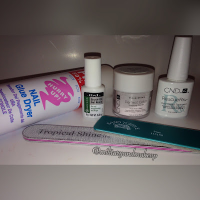 "Supplies for acrylic nails ""dipping"" method"