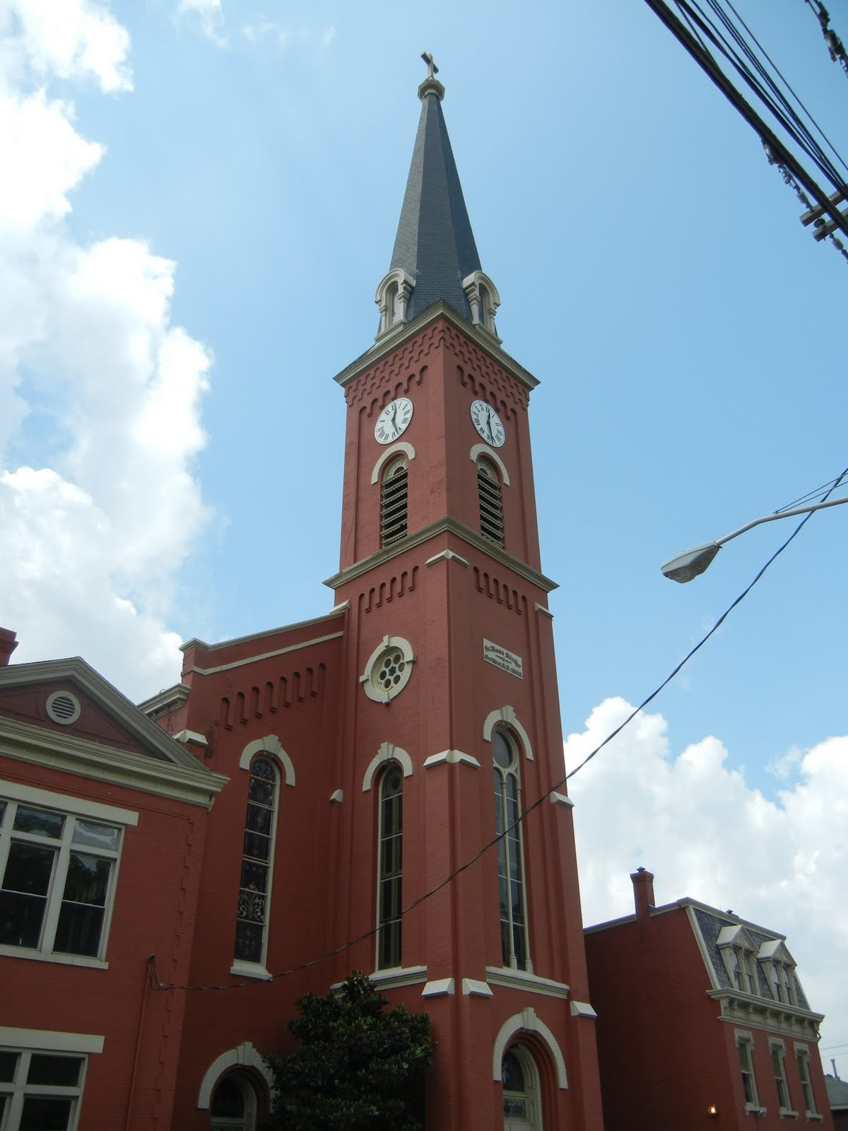 queen city tour  st  rose church