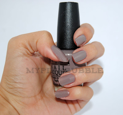 OPI Berlín there done that swatch