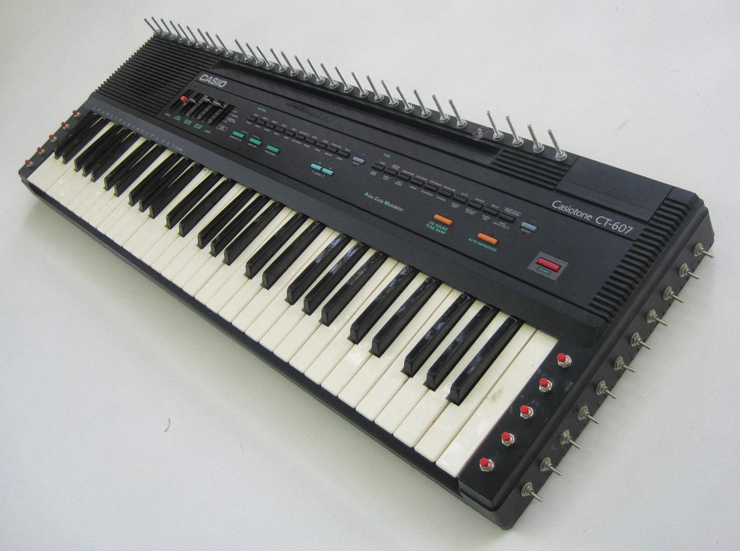 Circuit Bent Casio Sk 5 Wiring Diagram Master Blogs Picture Of Bending A Sk1 Matrixsynth Ct 607 Mod Keyboard Sampler