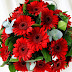Beautiful Red Flowers Bouquet wallpapers