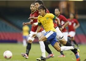 Brasil vence Egito na estreia por 3 x 2