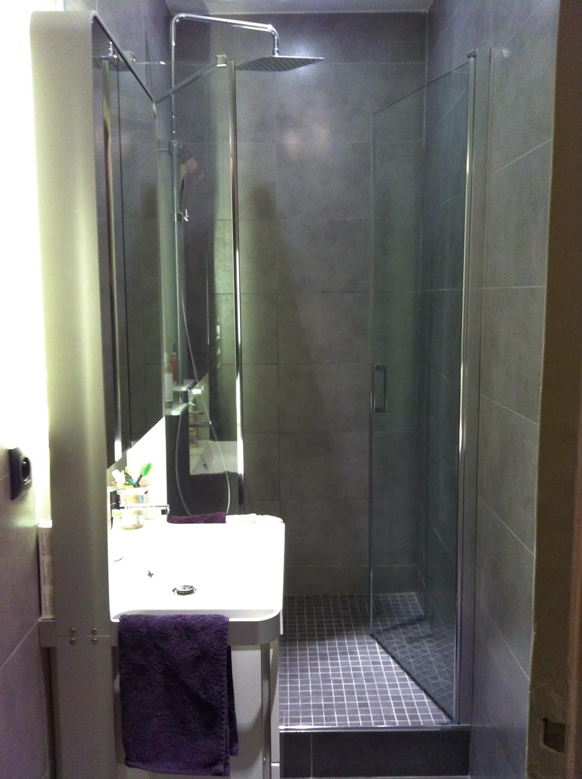 Art thisan optimiser l 39 espace dans une petite salle d 39 eau for Salle d eau petit espace