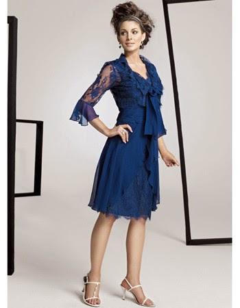 Vestidos, Madre de la Novia, Azul