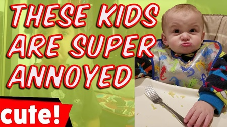 These Kids Are Super Annoyed | Funniest Kids Compilation